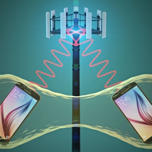 Our cell phone towers receives signals from multiple devices every day. Quantum entanglement could help them handle more information.