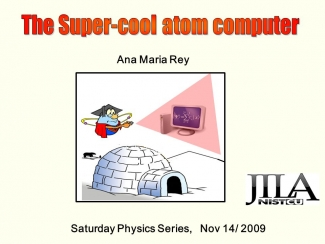 Saturday Physics Series Poster.