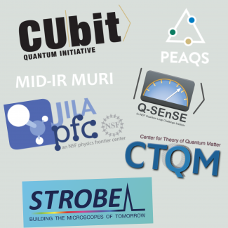 Logos of the Research Centers within JILA
