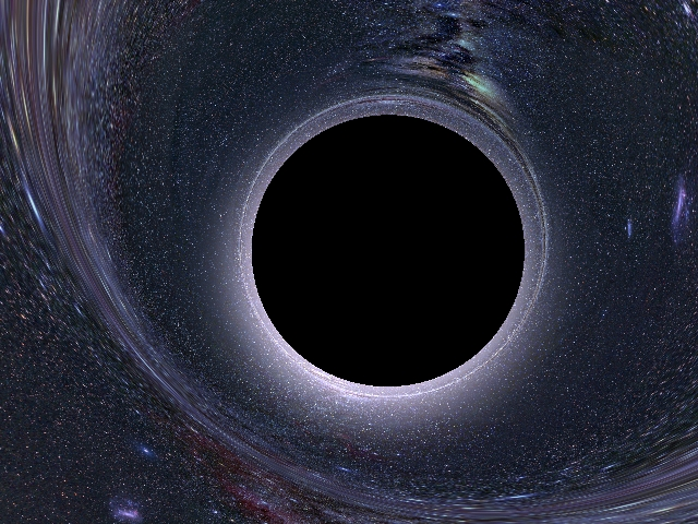 black holes in space in action - photo #30