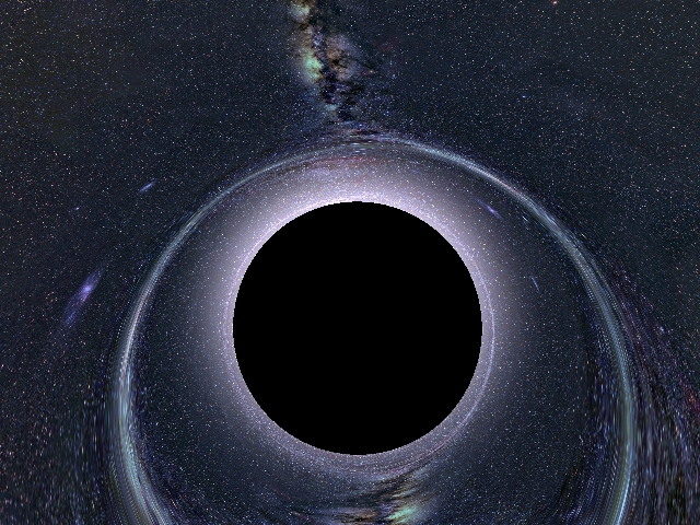 [HubbleSite]Behemoth Black Hole Found in an Unlikely Place ...