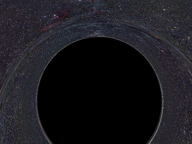 horizon lies on a tiny black hole - photo #14